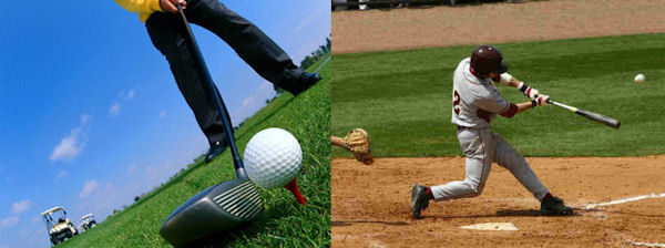 Golf & Baseball
