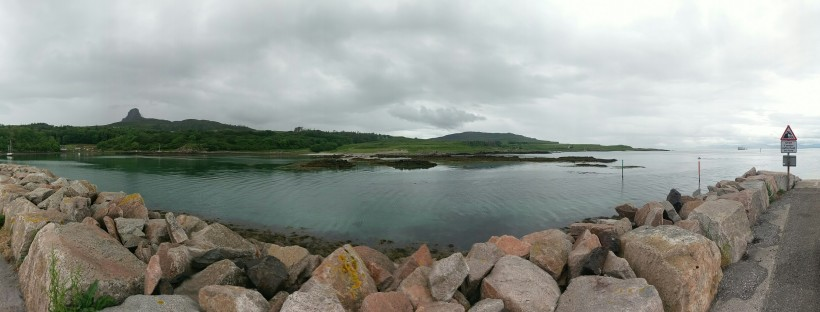 Eigg Pier Panorama