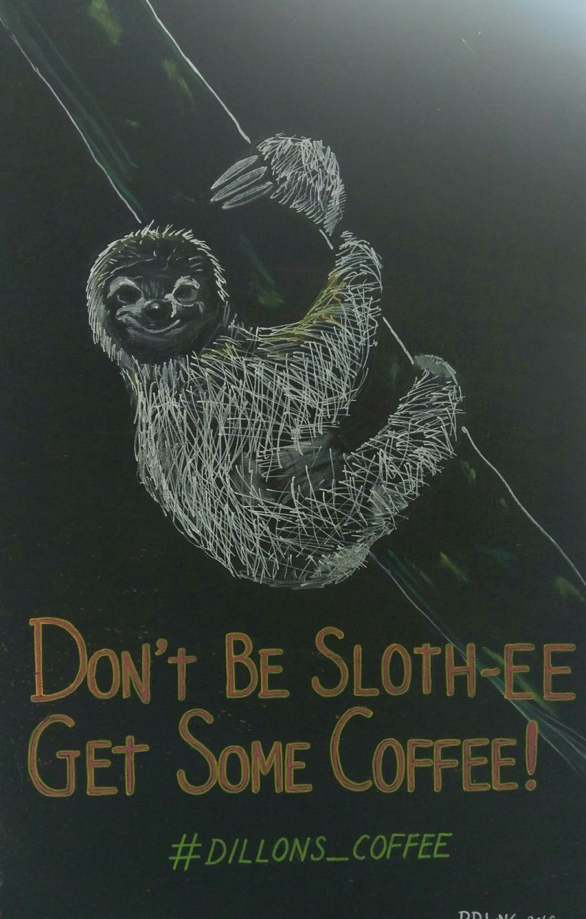 Sloth-ee Coffee