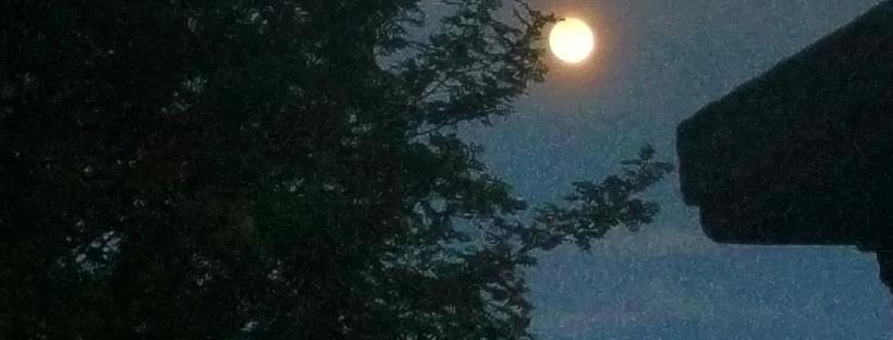 (Not So) Super Moon