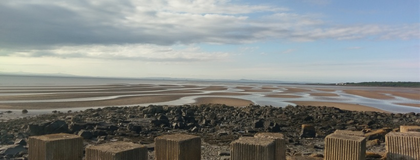 Tank Traps At Low Tide