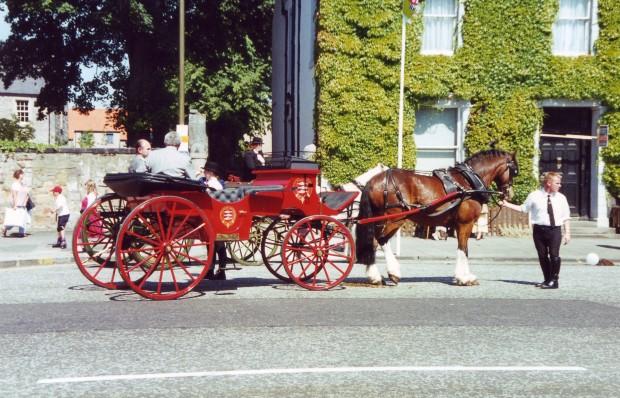 Horse-drawn