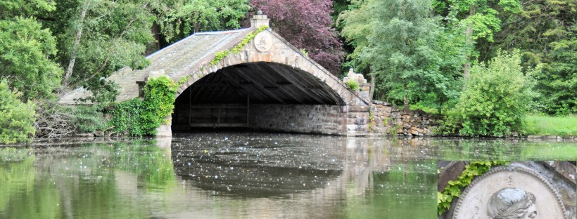 Boathouse in the grounds of Gosford House, East Lothian