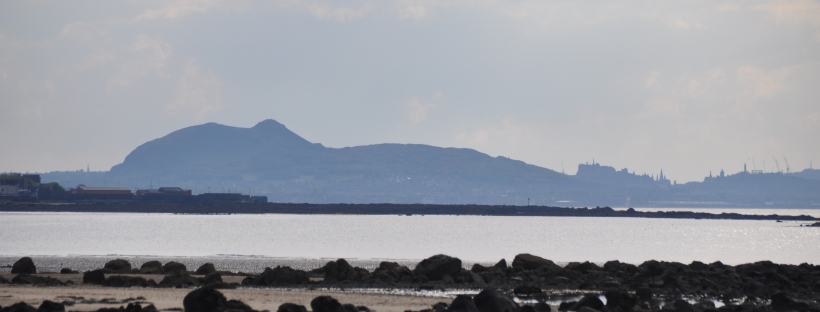Arthur's Seat from Longniddry Bents, East Lothian