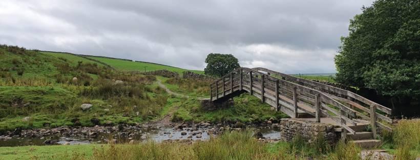 Bridge on Yorkshire 3 Peaks Challenge